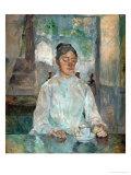 Comtesse Adele-Zoe De Toulouse-Lautrec, the Artist's Mother, 1883 Giclee Print by Henri de Toulouse-Lautrec