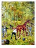 A Memory of Auteuil, 1881 Giclee Print by Henri de Toulouse-Lautrec