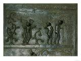 Expulsion of Adam and Eve, Bronze Doors (993-1022) Giclee Print