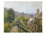 Louveciennes, Sentier De La Mi-Cote, circa 1873 Giclée-Druck von Alfred Sisley