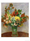 Flowers in a Vase, 1898 Giclee Print by Pierre-Auguste Renoir