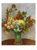Flowers in a Vase, 1898 Giclee Print by Pierre-Auguste Renoir