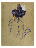Jane Avril, Back-View, circa 1891-1892 Giclee Print by Henri de Toulouse-Lautrec