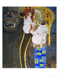 The Beethoven Frieze 1902 Giclee Print by Gustav Klimt