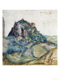 View of Val D&#39;Arco in South Tyrol, 1495 Gicl&#233;e-Druck von Albrecht D&#252;rer