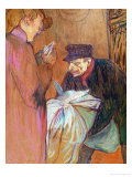 The Laundryman of the House, 1894 Giclee Print by Henri de Toulouse-Lautrec