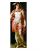 God Mercury, Painted for the Torre De La Parada Giclee Print by Peter Paul Rubens