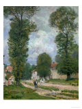 Road to Versailles, 1875 Giclee Print by Alfred Sisley