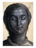 Head of a Woman, 1520 Giclee Print by Albrecht Dürer