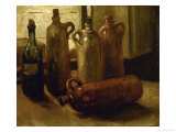 Still-Life with Bottles Giclee Print by Vincent van Gogh
