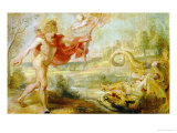 Apollo and the Serpent Python Giclee Print by Peter Paul Rubens