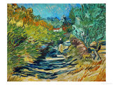 The Road to Saint-Remy, c.1890 Giclee Print by Vincent van Gogh