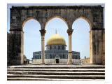 The Dome of the Rock was Built During the Omayyad Caliphate on the Temple Mount in Jerusalem Giclee Print