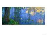 Waterlilies, Morning with Willows Giclée-Druck von Claude Monet