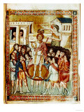Coronation of David Giclee Print