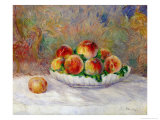 Peaches Giclee Print by Pierre-Auguste Renoir