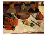 The Meal, Bananas, 1891 Stampa giclée di Paul Gauguin