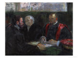 An Examination at the Faculty of Medicine, 1901 Giclee Print by Henri de Toulouse-Lautrec