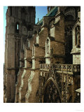 South-Side, Tower and Buttresses Giclee Print