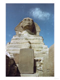 The Sphinx of Gizeh, in Its Paws is a Granite Stele Placed There by Pharaoh Thutmosis IV Giclee Print