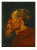 Head of an Old Man, 1618-1620 Reproduction proc&#233;d&#233; gicl&#233;e par Sir Anthony Van Dyck