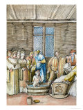 Maximilian's First Bath, from the Historia Federici III Et Maximiliani I Giclee Print by Albrecht Altdorfer
