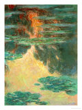 Waterlilies, 1907 Reproduction procédé giclée par Claude Monet