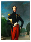 Ferdinand Philippe Louis, Duc D'Orleans (1810-1842) Giclee Print by Jean-Auguste-Dominique Ingres