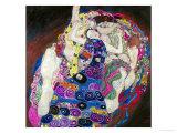 The Virgin (Die Jungfrau) Giclee-trykk av Gustav Klimt