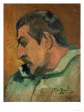 Self Portrait, 1896 Giclee Print by Paul Gauguin