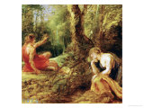 Procris and Cephalos (Ovid, Metamorphoses) Giclee Print by Peter Paul Rubens