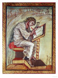 Gospel of Ebbo, France, 9th, Saint Matthew, Evangelist Giclee Print
