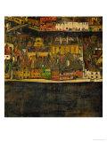 Die Kleine Stadt (II) or Kleine Stadt (III) Assembled from Separate Parts Giclee Print by Egon Schiele