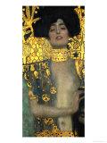 Judith with the Head of Holofernes, 1901 Giclée-tryk af Gustav Klimt