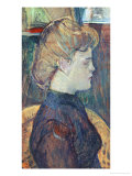 The Painter's Model Helen Vary in the Studio Giclee Print by Henri de Toulouse-Lautrec