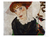 Portrait of Wally, 1912 Giclee-vedos tekijn Egon Schiele