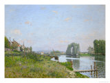 The Isle Saint-Denis, 1872 Giclee Print by Alfred Sisley