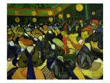 Ball in Arles, Giclee Print