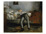 The Suicide Giclee Print by Édouard Manet