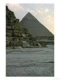 Pyramid of Pharoah Chefren, Old Kingdom, 4th Dynasty Giclee Print