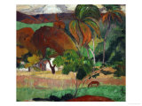 Apatarao (District of Papeete, Capital of Tahiti), 1893 Giclée-Druck von Paul Gauguin