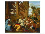 Adoration of the Magi, 1633 Giclee Print by Nicolas Poussin