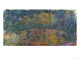 The Bridge at Giverny, 1918 Giclée-tryk af Claude Monet
