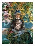 Comtesse Adele-Zoe De Toulouse-Lautrec, the Artist's Mother, 1882 Giclee Print by Henri de Toulouse-Lautrec
