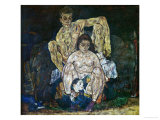 Family, 1918 Giclee Print by Egon Schiele