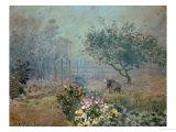 Fog, 1874 Giclée-Druck von Alfred Sisley