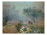 Fog, 1874 Giclee Print by Alfred Sisley