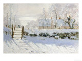 The Magpie, 1868-69 Giclee Print by Claude Monet