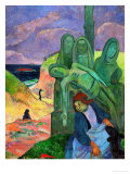 The Green Christ, 1889 Giclee Print by Paul Gauguin