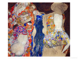 The Bride Reproduction proc&#233;d&#233; gicl&#233;e par Gustav Klimt